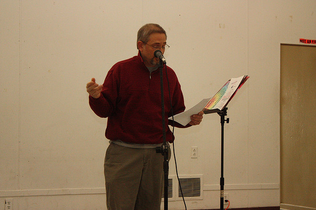 Woodstock Poetry Society with Paul R. Clemente and Robert Milby at Mountain View Studios