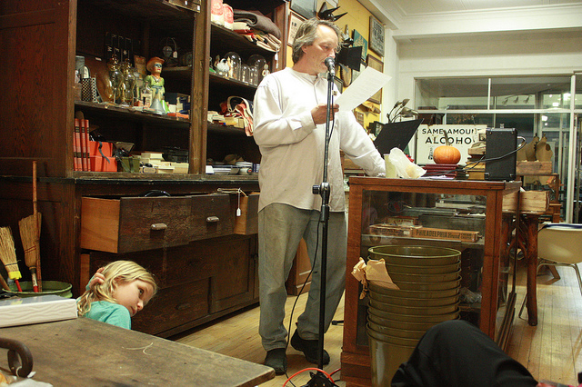 Woodstock Poetry Society Featuring Greg Correll and Tyler Wilhelm