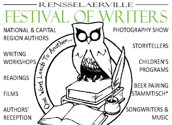 Writing Workshops at the Rensselaerville Festival of Writers