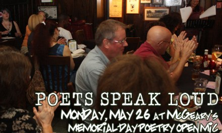 Poets Speak Loud Memorial Day Edition
