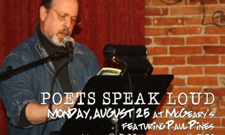 Poets Speak Loud Featuring Paul Pines