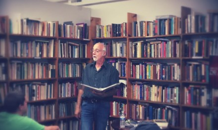 New Audio – Mike Jurkovic at Half Moon Books – July 26, 2014