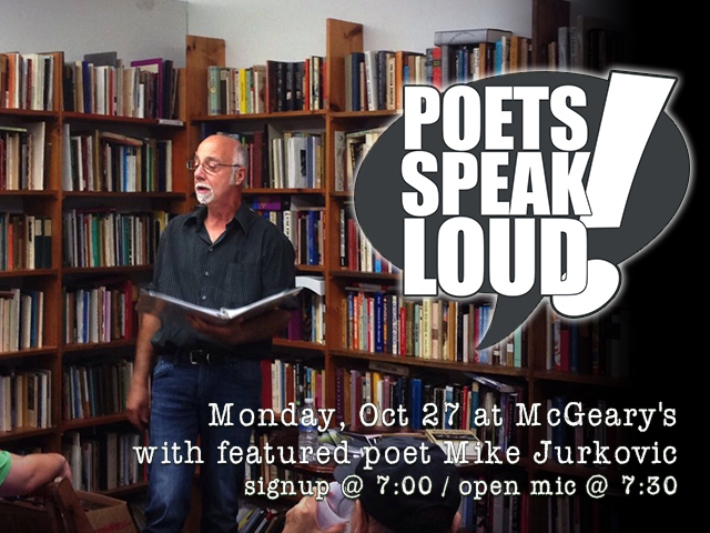 Poets Speak Loud featuring Mike Jurkovic