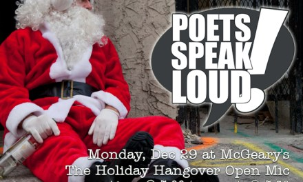 Poets Speak Loud – Holiday Hangover Edition