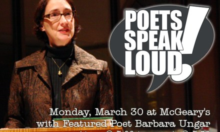 Poets Speak Loud Featuring Barbara Ungar