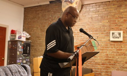 Throwback Audio – Randall Horton at Poets in the Park – July 11, 2009