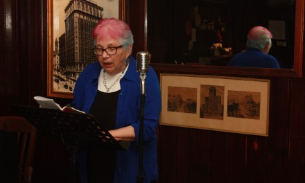 Bertha Rogers at Poets Speak Loud – August 26, 2013