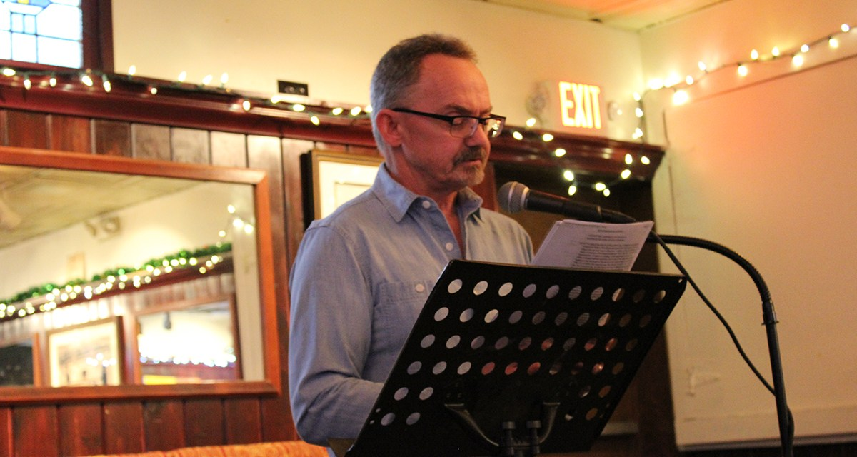 Third Thursday Poetry Night Featuring Tom Riley