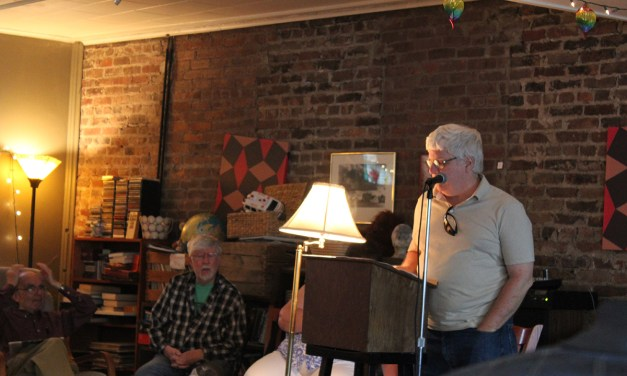 Poetry Finale at Arthur's Market