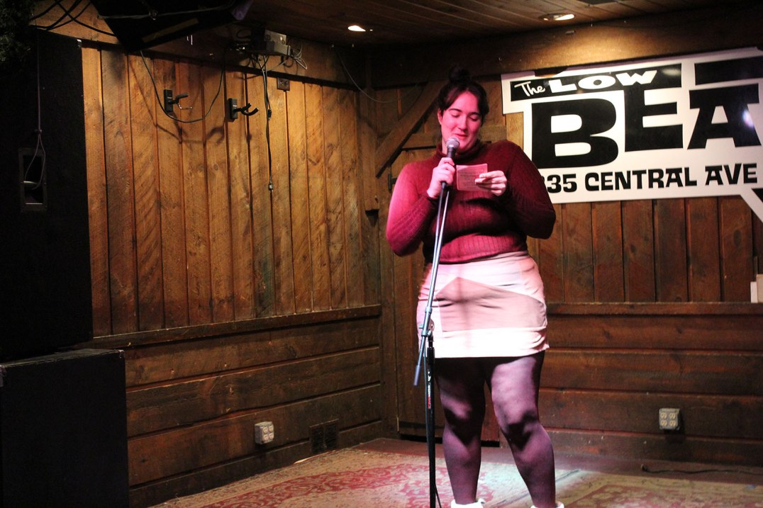 Allie at Brass Tacks, March 19, 2019