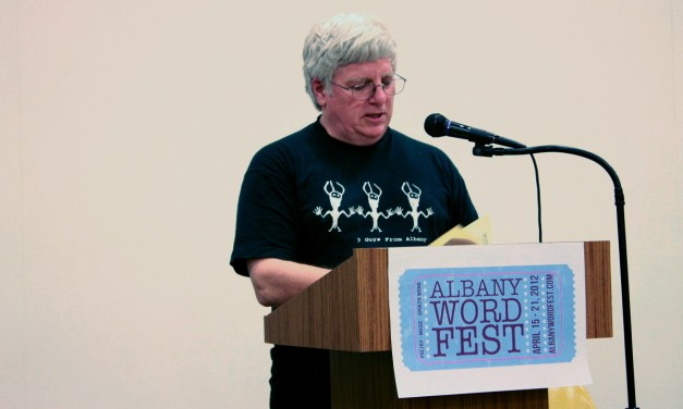 Alan Catlin at the 2012 Albany Word Fest
