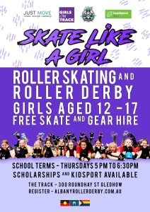 Skate like a Girl POSTER 2020 Term 3