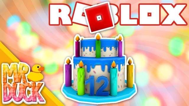 12Th Birthday Cake Roblox How To Get 12th Birthday Cake Hat Free Code Expired