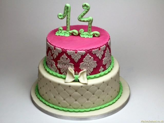 14Th Birthday Cake 14th Birthday Cakes