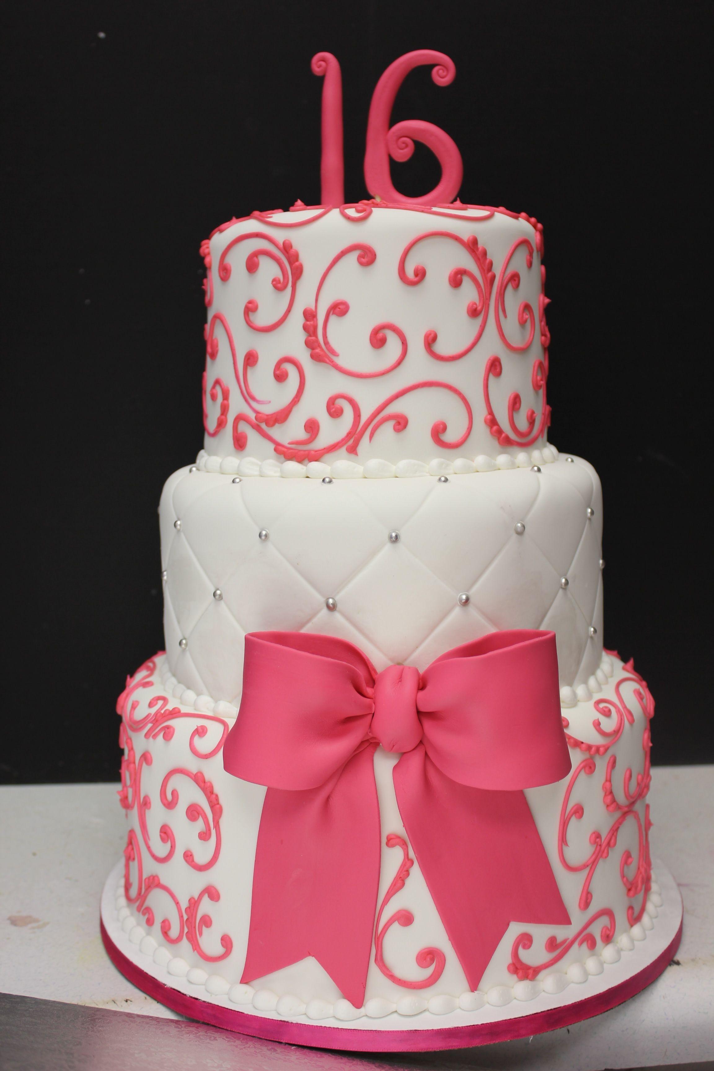 25 Elegant Picture Of 16 Birthday Cakes