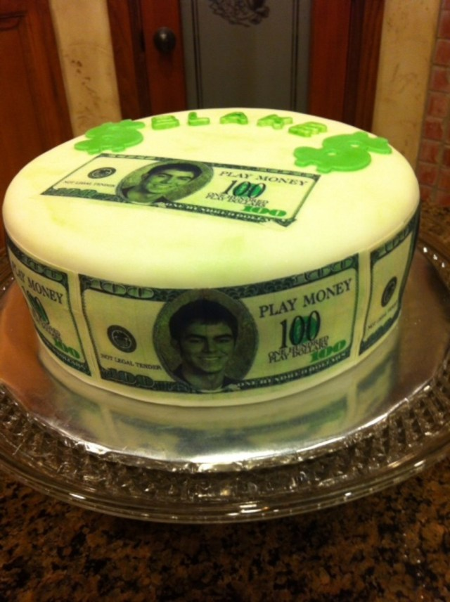 17 Year Old Birthday Cake Money Cakecentral