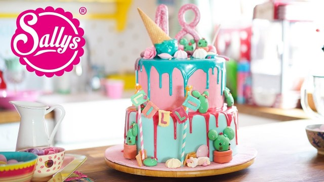 18 Birthday Cake 18th Birthday Cake Geburtstagstorte Zum 18 Drip Cake Youtube