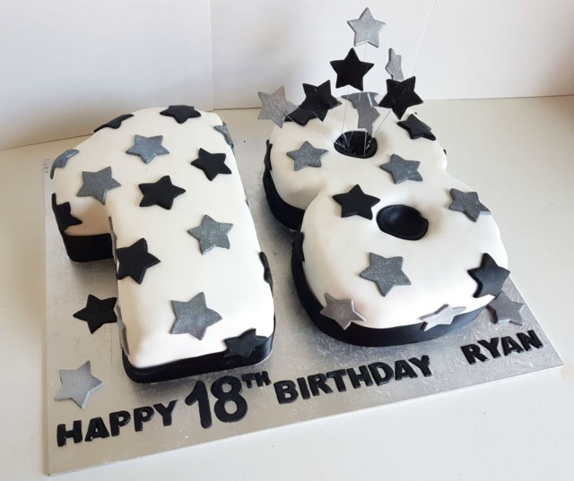 18 Birthday Cake 18th Birthday Party Supplies Quality Cake Company Tamworth