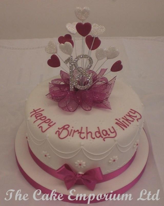 18Th Birthday Cake Designs 18th Birthday Cake Ideas Colorfulbirthdaycakesga