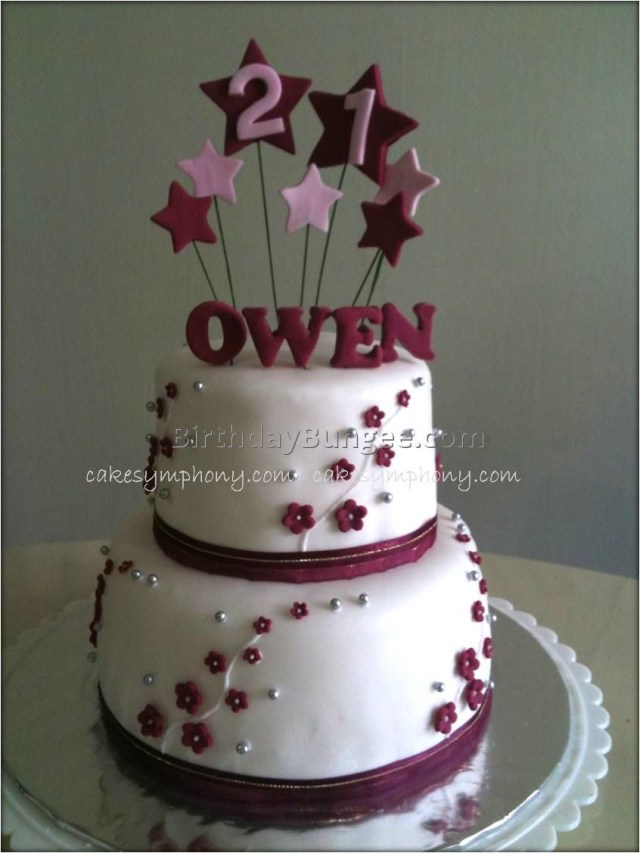 21St Birthday Cake Ideas For Her 10 21st Birthday Cakes For Her Photo Pink And Black 21st Birthday