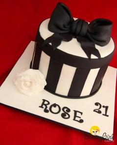 21St Birthday Cake Ideas For Her Roses 21st Birthday Cake Sunny Girl Cakes