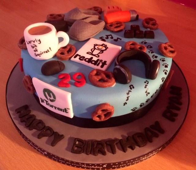 29Th Birthday Cake My 29th Birthday Cake Made My Girlfriend Imgur