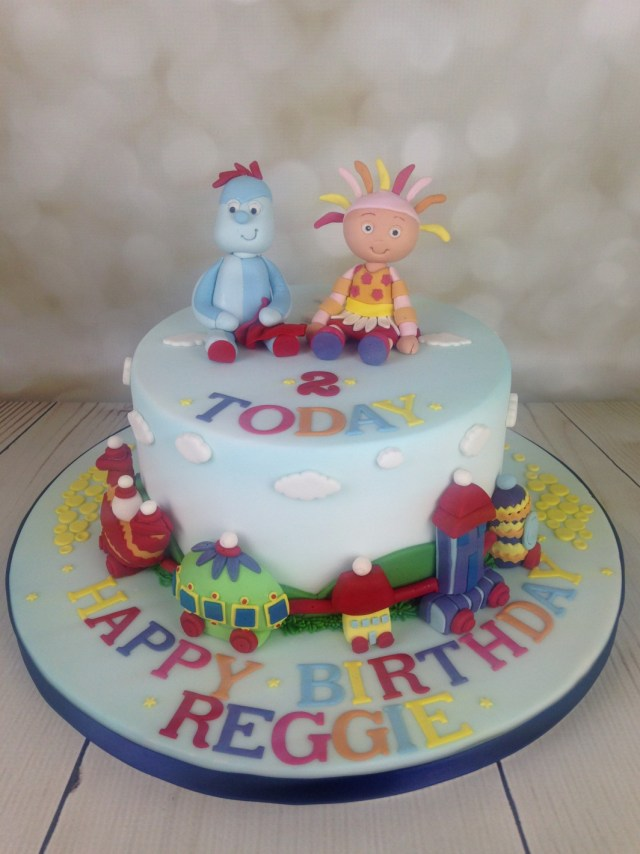 2Nd Birthday Cake Ideas In The Night Garden 2nd Birthday Cake Archives Mels Amazing Cakes