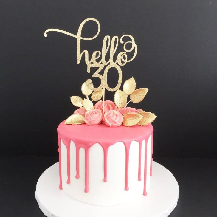 30 Inspiration Photo of 30Th Birthday Cake