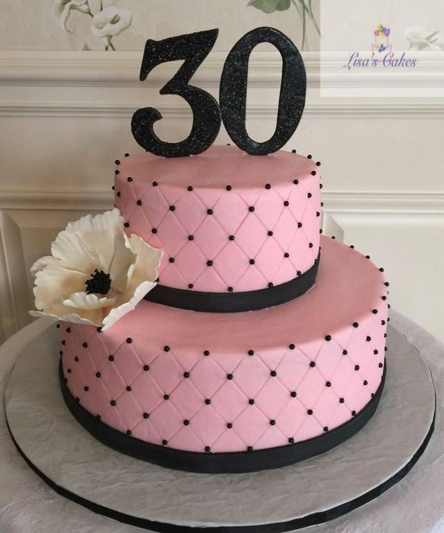 30Th Birthday Cake 30th Birthday Cakes