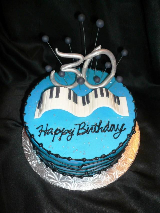 30Th Birthday Cake Ideas For Her 30th Birthday Cake Topper Protoblogr Design 30th Birthday Cakes