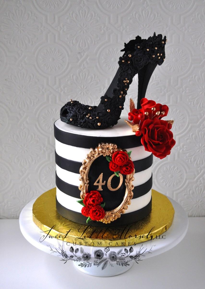 40Th Birthday Cake Ideas 40th Birthday Cake Cakecentral