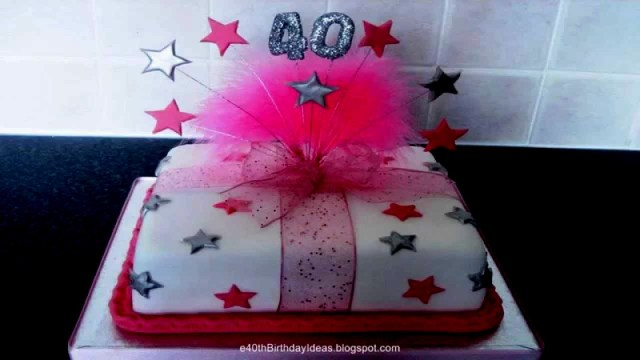 40Th Birthday Cake Ideas For Her 40th Birthday Cake Ideas For Her Cakes Celebration