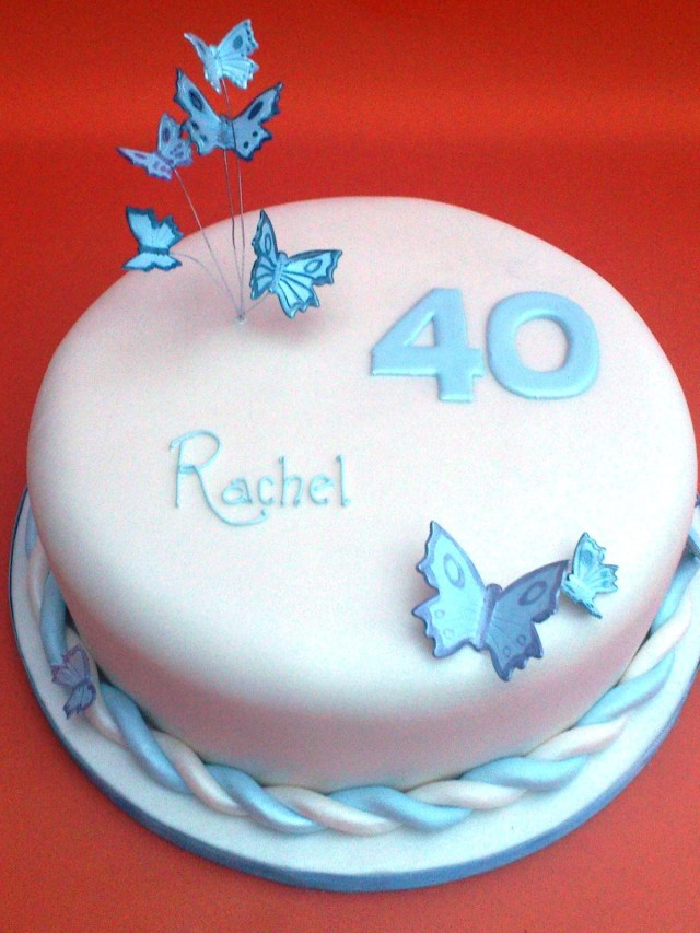 40Th Birthday Cake Ideas For Her 40th Birthday Cake Ideas For Her Protoblogr Design 40th Birthday