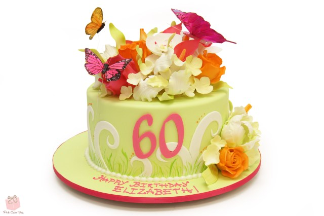 40Th Birthday Cake Ideas For Her Whimsical 40th Birthday Cake