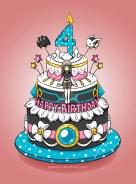 4Th Birthday Cake Elsword Eve 4th Birthday Cake Design Entry Stellestia On
