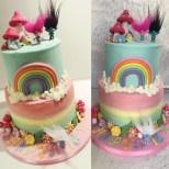 4Th Birthday Cake Trolls Birthday Cake For Sanayas 4th Birthday Crumbs Couture Cupcakes