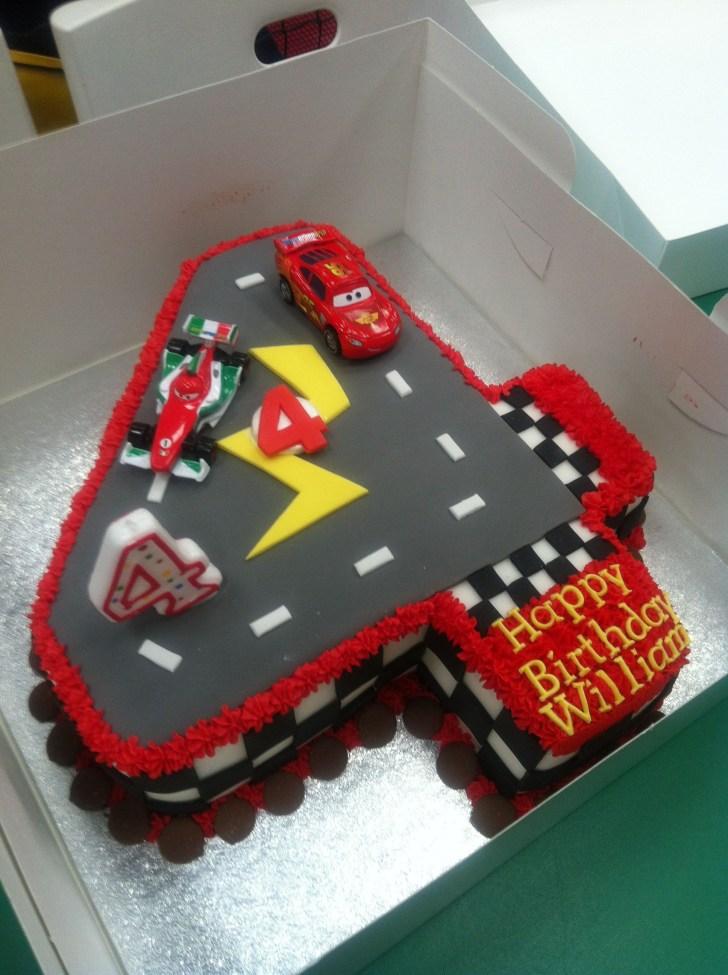 34+ Wonderful Image of 4Th Birthday Cake
