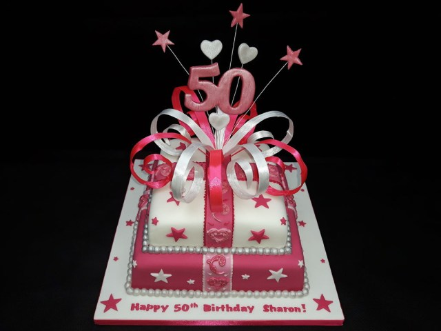 50 Birthday Cake Ideas 50th 7 Steps With Pictures