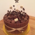 50Th Birthday Cake Ideas For Him Chocolate Cigarello 50th Birthday Cake Sweets Pinte