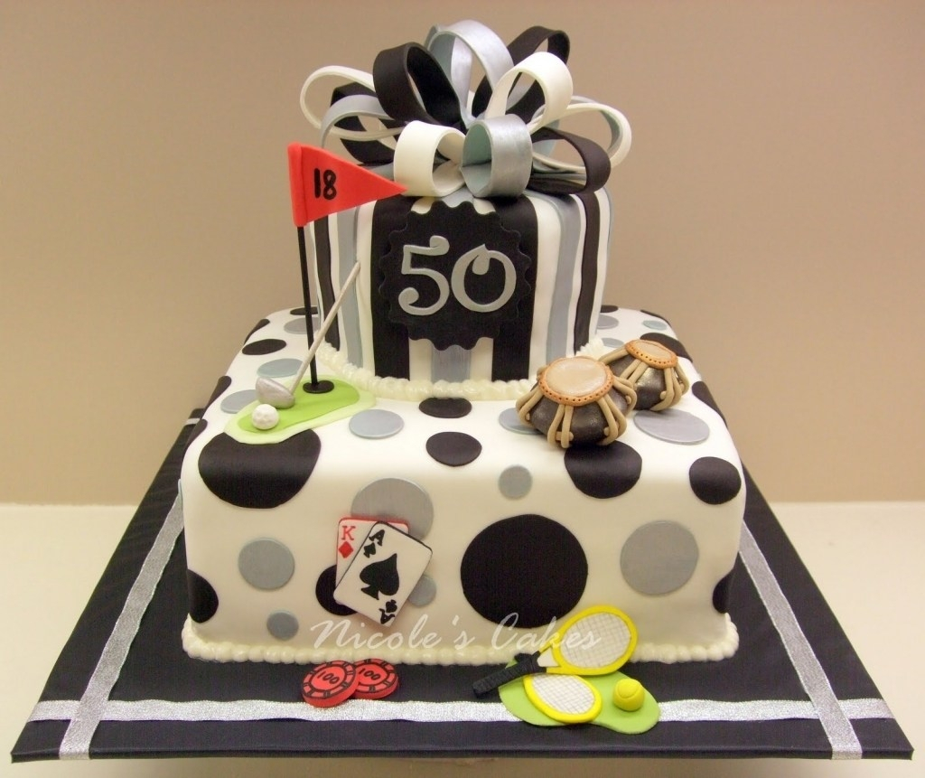 50Th Birthday Cake Ideas For Him Divine Mens Cakes Romantic Wedding Layer Inch Flavor Recipes