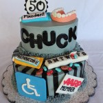 50Th Birthday Cake Ideas For Him Over The Hill Cake For A 50th Birthday Party Hilarious