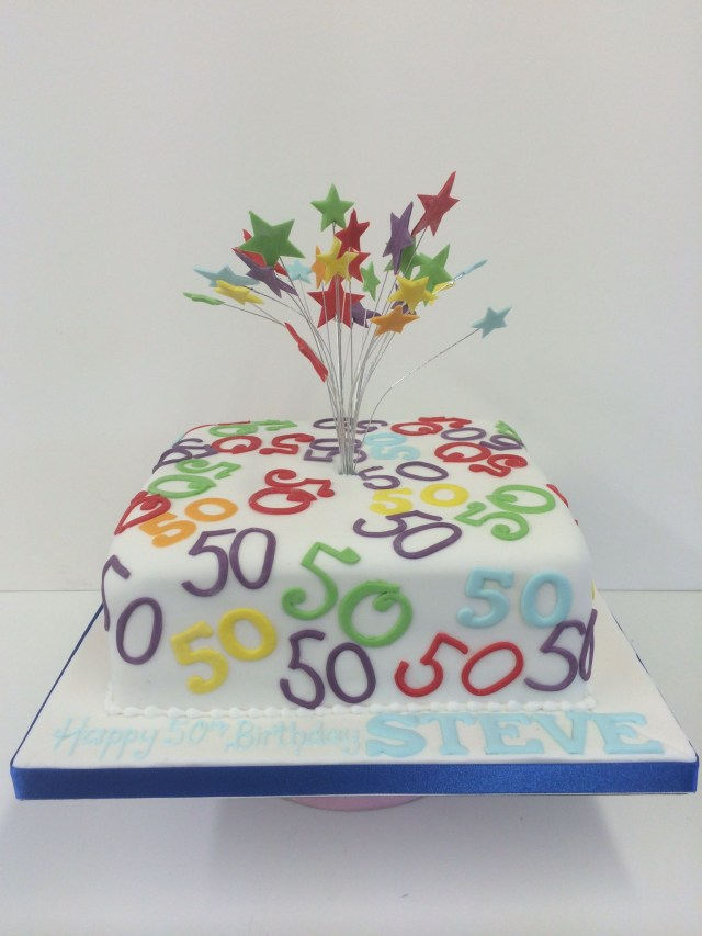 50Th Birthday Cake Images Women Cakes For Celebrations Birthday Cake Ideas Pinterest