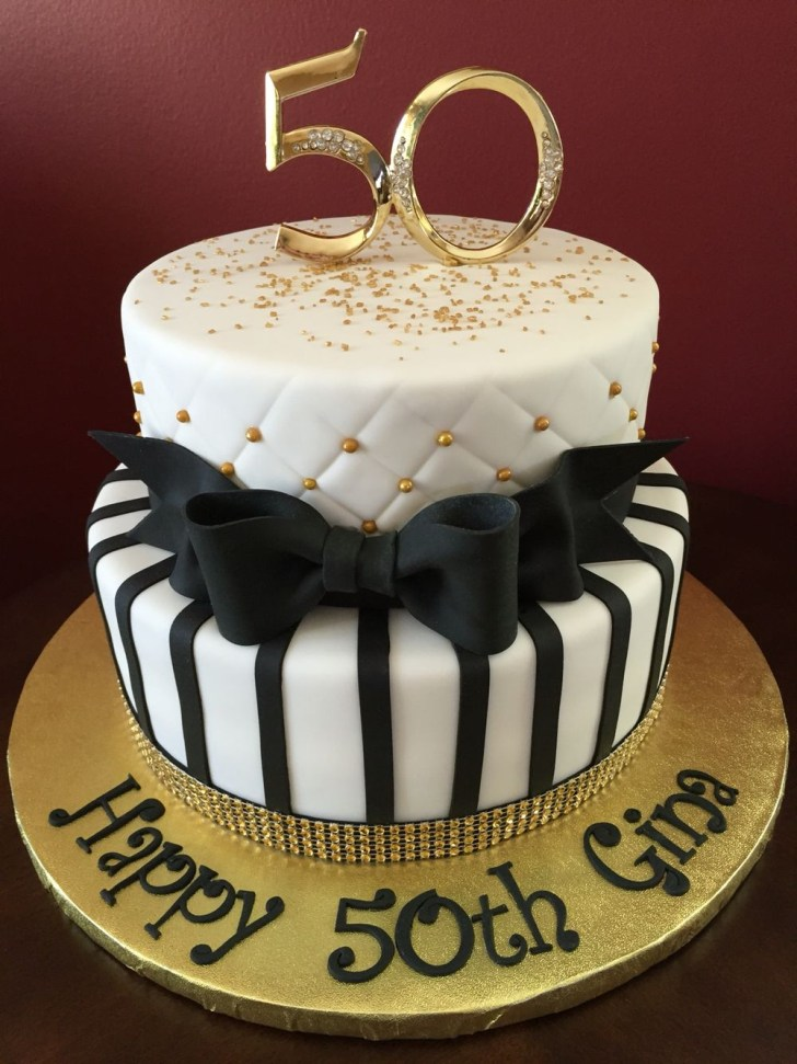 30 Wonderful Picture of 50Th Birthday Cakes