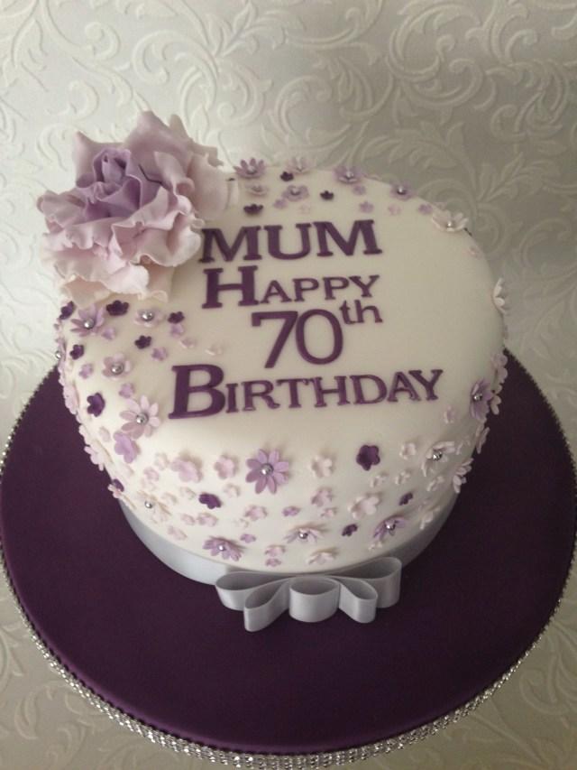 70Th Birthday Cake 70th Birthday Cake 70th Birthday 70th Birthday Cake Birthday