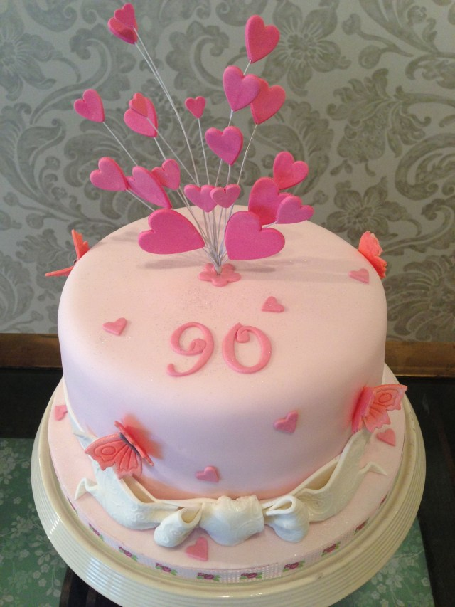 90Th Birthday Cake Ideas 90th Party In 2018 Pinterest