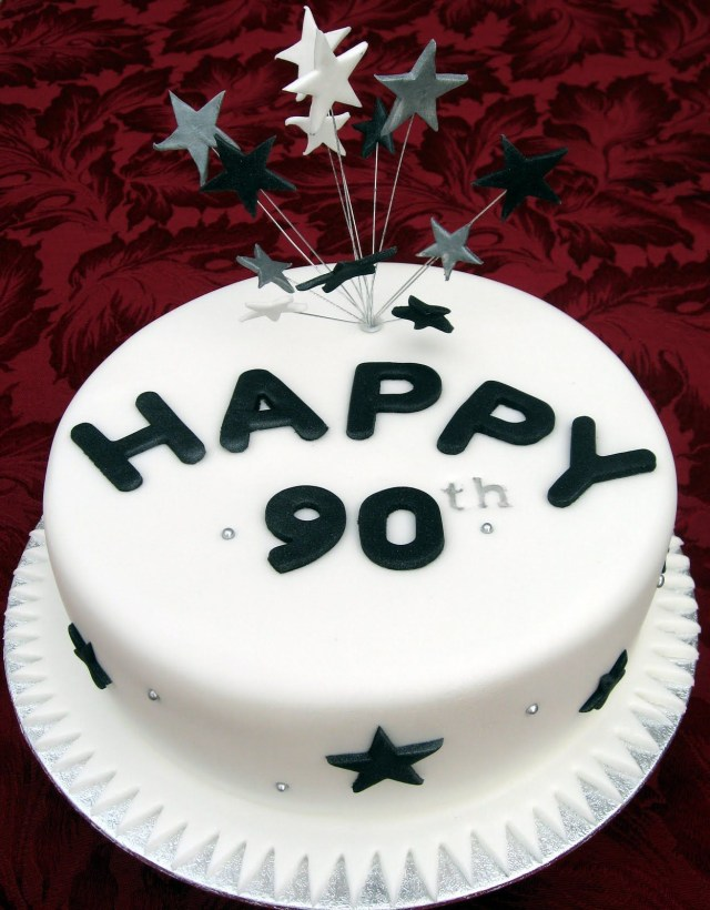 90Th Birthday Cake Ideas 90th Cakes Specialty Anniversary And