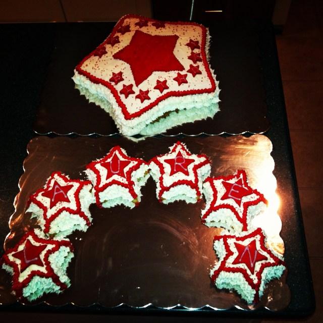American Girl Birthday Cake American Birthday Cakes