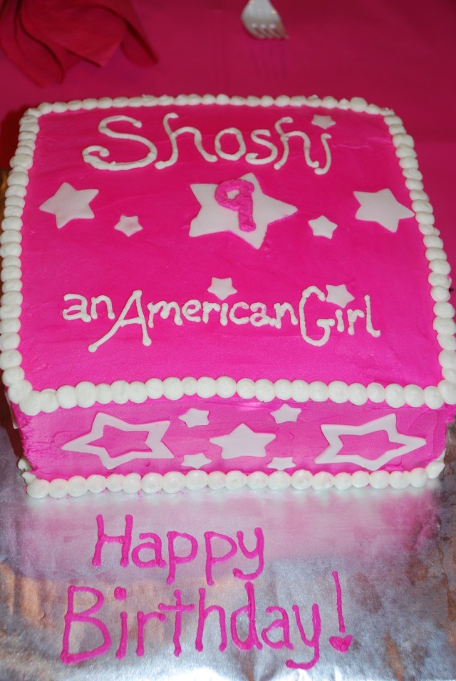 American Girl Birthday Cake American Girl Birthday Cake Cakecentral