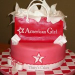 American Girl Birthday Cake American Girl Cake Cakecentral