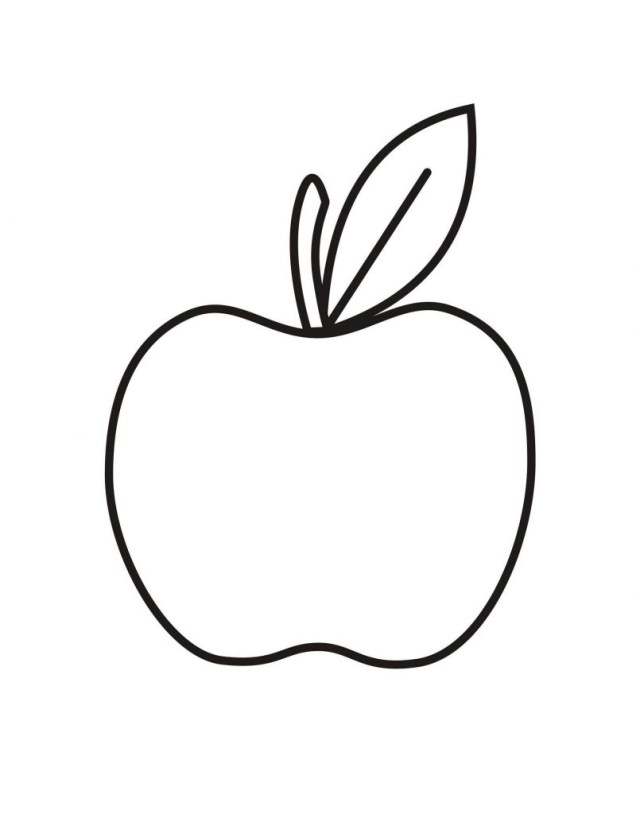 Apple Coloring Pages Free Printable Apple Coloring Pages For Kids Incredible Toddlers To